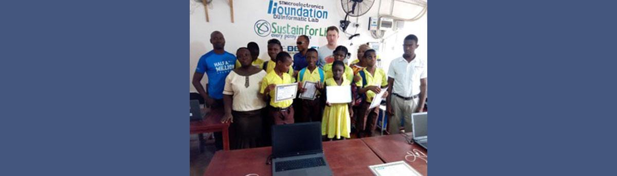 Milton Margai School in Freetown SL